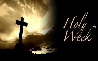 Observing Holy Week