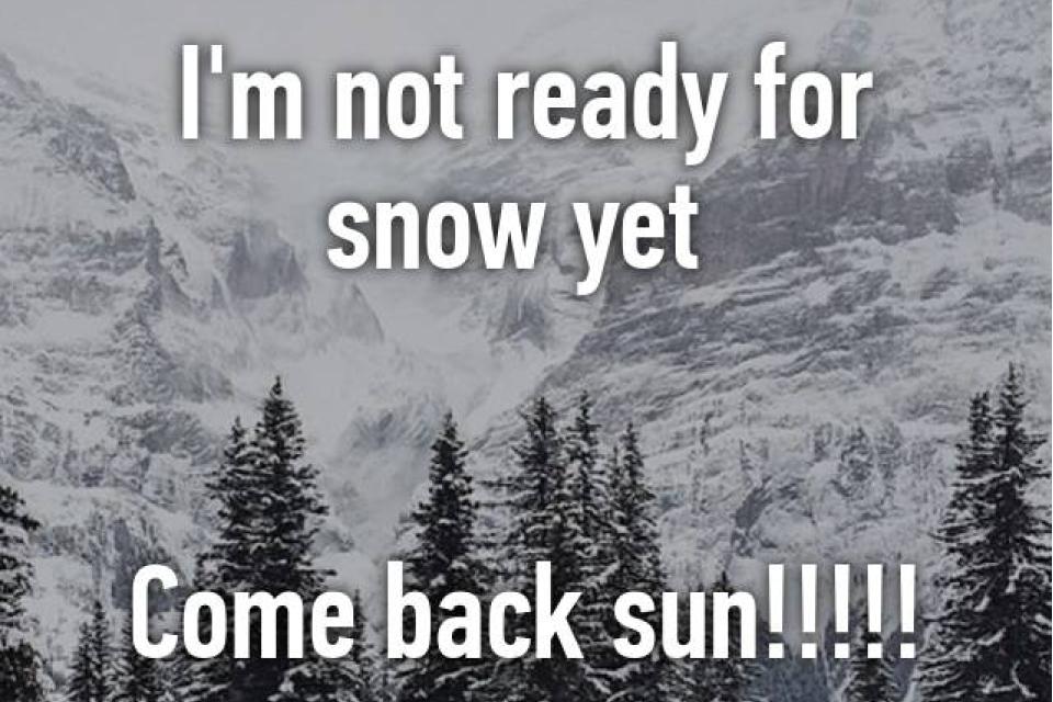 Not Ready Yet